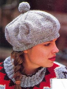 Схема вязания шапочки