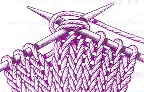 Убавка петель при вязание 29