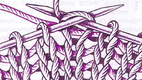 Вязание спицами это википедия