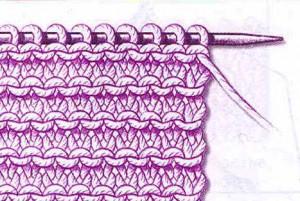 платочное вязание