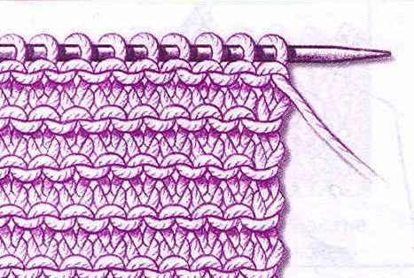 платочное вязание.