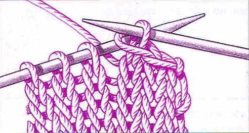 закрытие петель для вязания спицами рукодельница