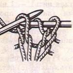 Накид в вязании спицами