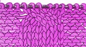 вязание кос спицами для начинающих