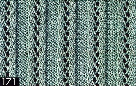 для вязания спицами.