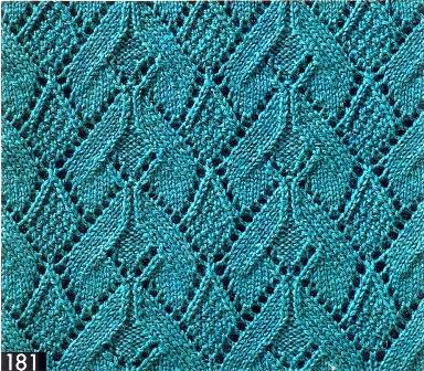 Схемы вязания ажура спицами к лету. Рукодельница