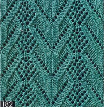 Схемы и узоры по вязанию ажур на спицах схемы Вязание для малышей