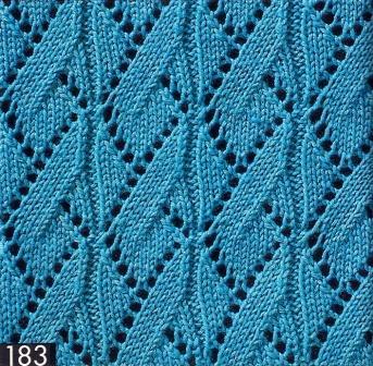 Схемы вязание спицами ажур