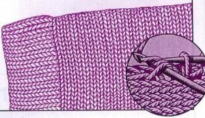 вязание манжет