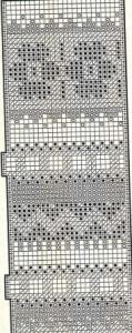 жаккардовые узоры для свитера