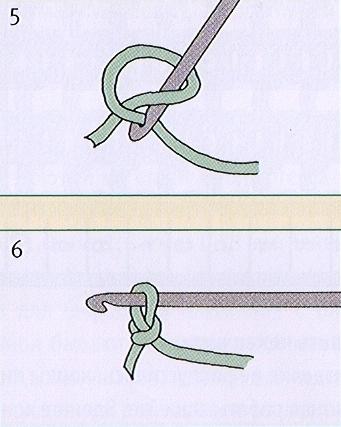 Набрать петли вязания крючком 80