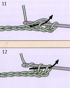 как связать столбик крючком