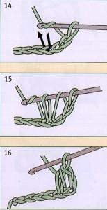 как вязать полустолбик крючком